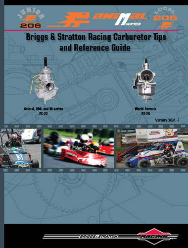 briggs stratton racing carburetor tips and reference guide