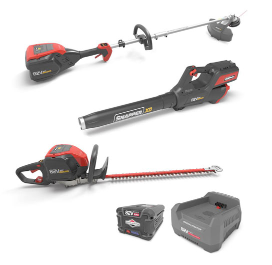 Snapper Cordless 82V Total Yard Bundle