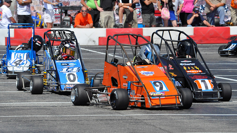 This Is Briggs Stratton Quarter Midget Racing